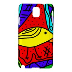 Yellow bird Samsung Galaxy Note 3 N9005 Hardshell Case