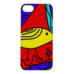 Yellow bird Apple iPhone 5S/ SE Hardshell Case