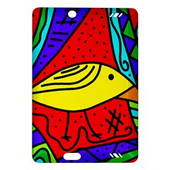 Yellow bird Amazon Kindle Fire HD (2013) Hardshell Case