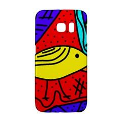 Yellow bird Galaxy S6 Edge