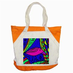 Pink bird Accent Tote Bag