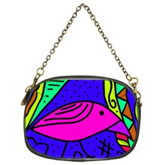 Pink bird Chain Purses (One Side)