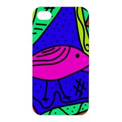 Pink bird Apple iPhone 4/4S Hardshell Case