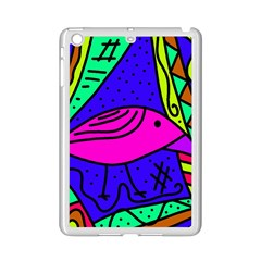 Pink bird iPad Mini 2 Enamel Coated Cases