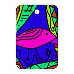 Pink bird Samsung Galaxy Note 8.0 N5100 Hardshell Case