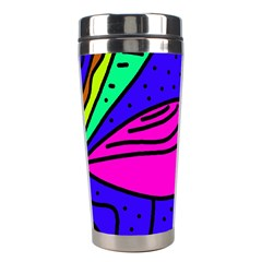 Pink bird Stainless Steel Travel Tumblers