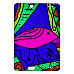 Pink bird Amazon Kindle Fire HD (2013) Hardshell Case