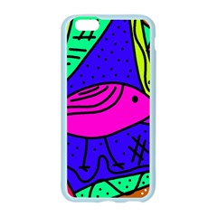 Pink bird Apple Seamless iPhone 6/6S Case (Color)