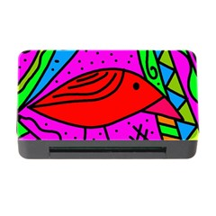 Red bird Memory Card Reader with CF