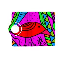 Red bird Kindle Fire HD (2013) Flip 360 Case