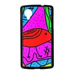 Red bird Nexus 5 Case (Black)