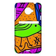 Green bird HTC Evo 4G LTE Hardshell Case