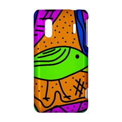 Green bird HTC Evo Design 4G/ Hero S Hardshell Case