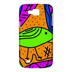 Green bird Samsung Galaxy Premier I9260 Hardshell Case