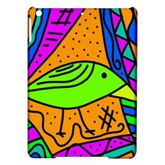 Green bird iPad Air Hardshell Cases
