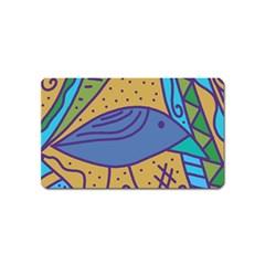 Blue bird Magnet (Name Card)