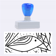 Blue bird Rubber Stamps (Large)