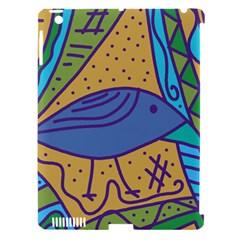 Blue bird Apple iPad 3/4 Hardshell Case (Compatible with Smart Cover)