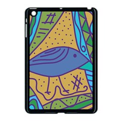 Blue bird Apple iPad Mini Case (Black)