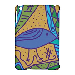Blue bird Apple iPad Mini Hardshell Case (Compatible with Smart Cover)