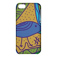 Blue bird Apple iPhone 5C Hardshell Case