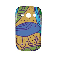 Blue bird Samsung Galaxy S6810 Hardshell Case