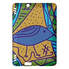 Blue bird Kindle Fire HDX Hardshell Case