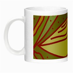 Brown bird Night Luminous Mugs