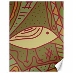 Brown bird Canvas 12  x 16