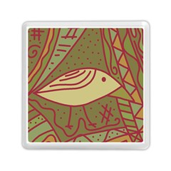 Brown bird Memory Card Reader (Square)