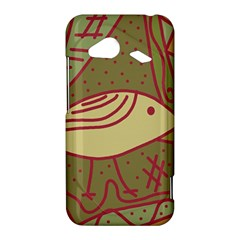 Brown bird HTC Droid Incredible 4G LTE Hardshell Case