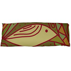 Brown bird Body Pillow Case Dakimakura (Two Sides)