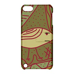 Brown bird Apple iPod Touch 5 Hardshell Case with Stand
