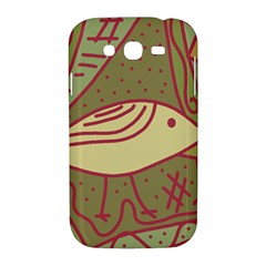 Brown bird Samsung Galaxy Grand DUOS I9082 Hardshell Case