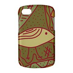 Brown bird BlackBerry Q10