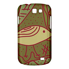 Brown bird Samsung Galaxy Express I8730 Hardshell Case