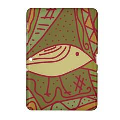 Brown bird Samsung Galaxy Tab 2 (10.1 ) P5100 Hardshell Case