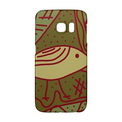 Brown bird Galaxy S6 Edge