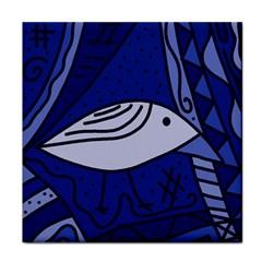 Blue bird Tile Coasters