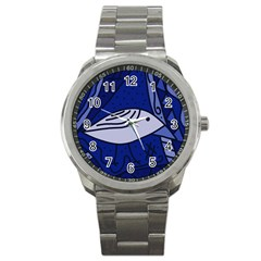 Blue bird Sport Metal Watch