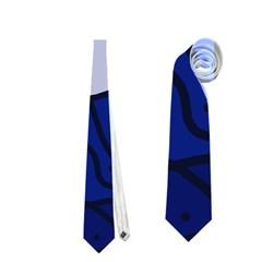 Blue bird Neckties (Two Side)