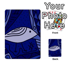 Blue bird Multi-purpose Cards (Rectangle)