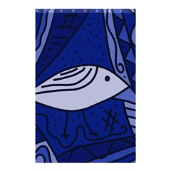 Blue bird Shower Curtain 48  x 72  (Small)