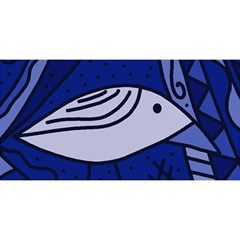 Blue Bird You Are Invited 3d Greeting Card (8x4)