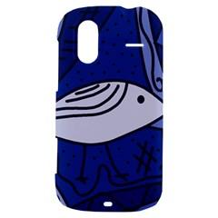 Blue bird HTC Amaze 4G Hardshell Case