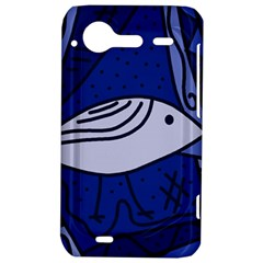 Blue bird HTC Incredible S Hardshell Case