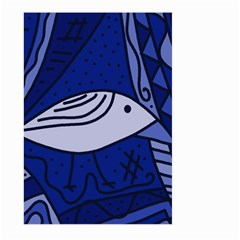Blue bird Large Garden Flag (Two Sides)