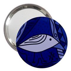 Blue bird 3  Handbag Mirrors