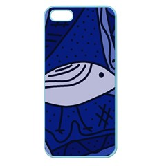 Blue bird Apple Seamless iPhone 5 Case (Color)