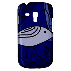 Blue bird Samsung Galaxy S3 MINI I8190 Hardshell Case
